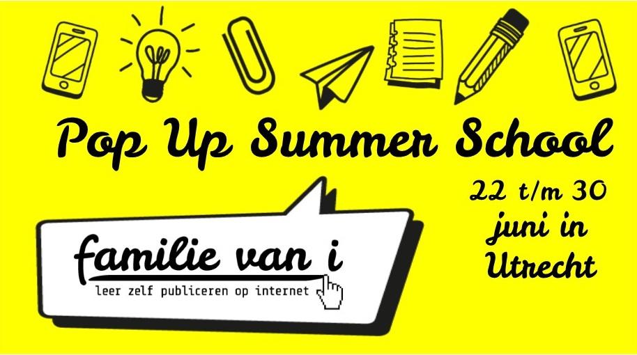 Kom naar Summer School voor content-workshops!
