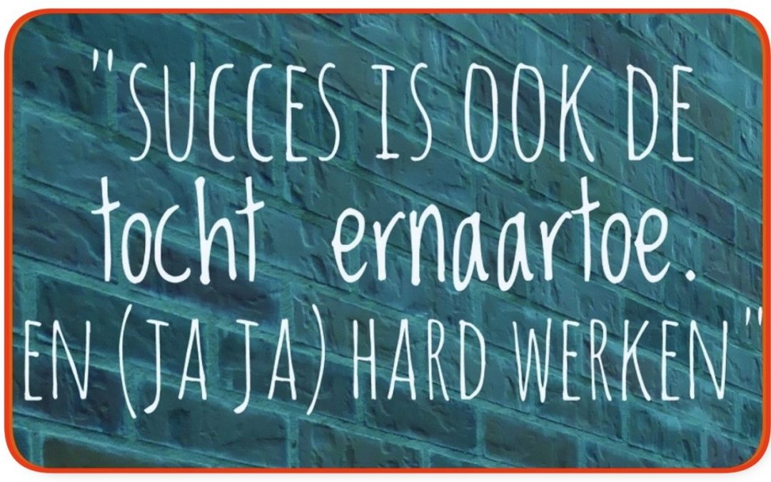 Dit is de definitie van succes
