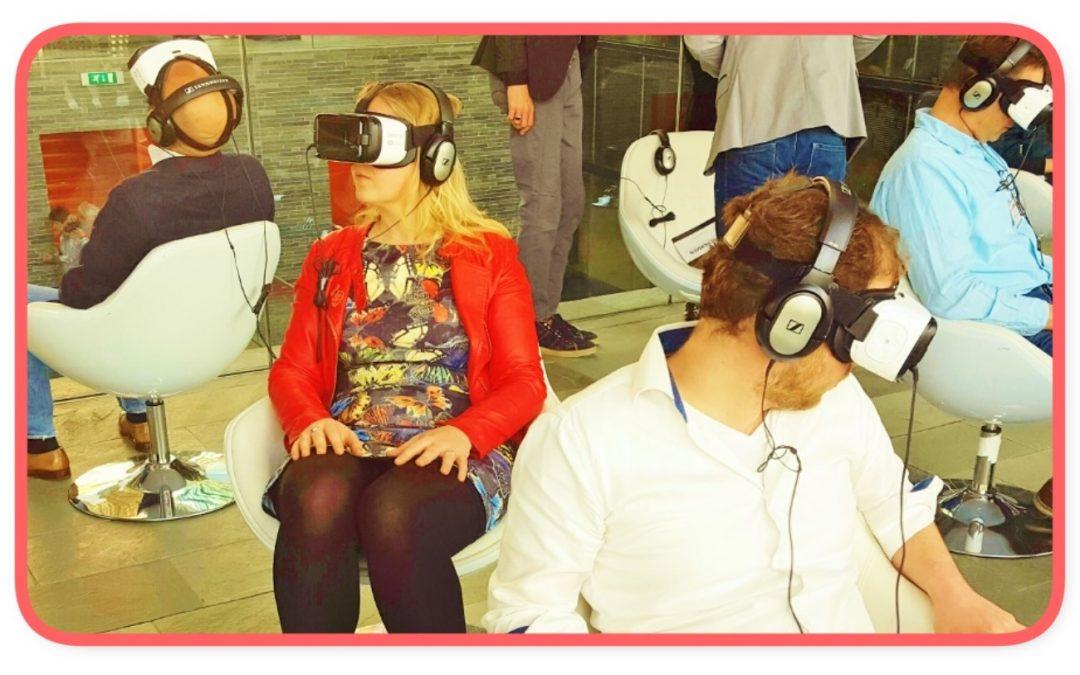 Krijg de kriebels van virtual reality